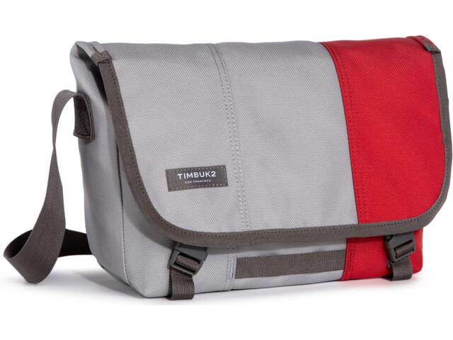 Timbuk2 Classic Messenger Dip - Sac - XS gris/rouge